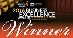 2016 Business Excellence Award